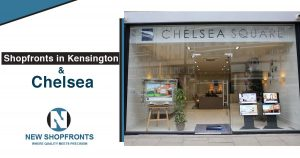 Shopfronts in Kensington and Chelsea