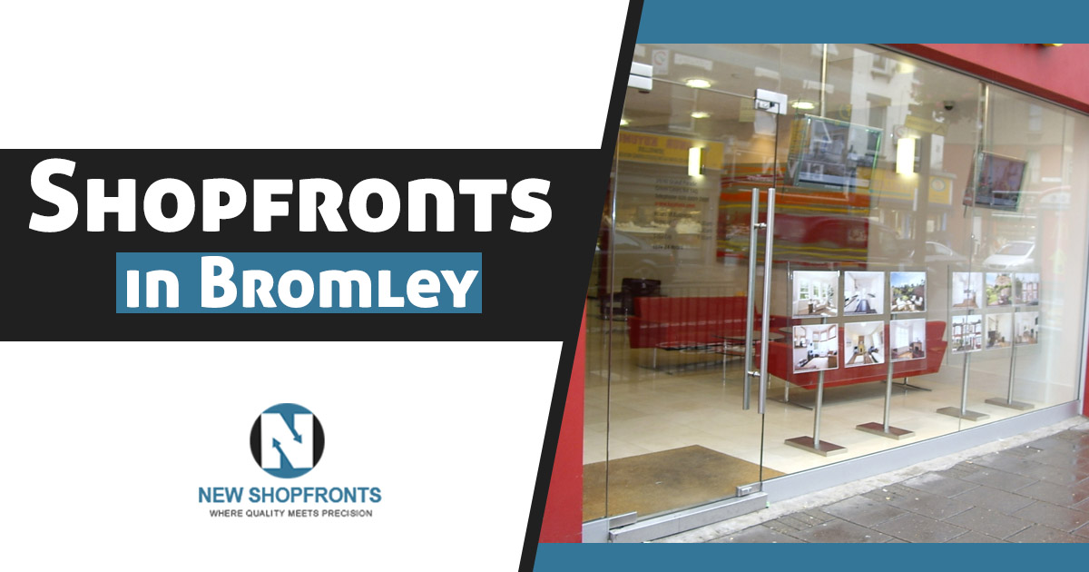 Shopfronts in Bromley